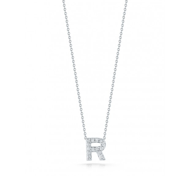 Personalized Bridal Party Gifts Roberto Coin Initial Necklace