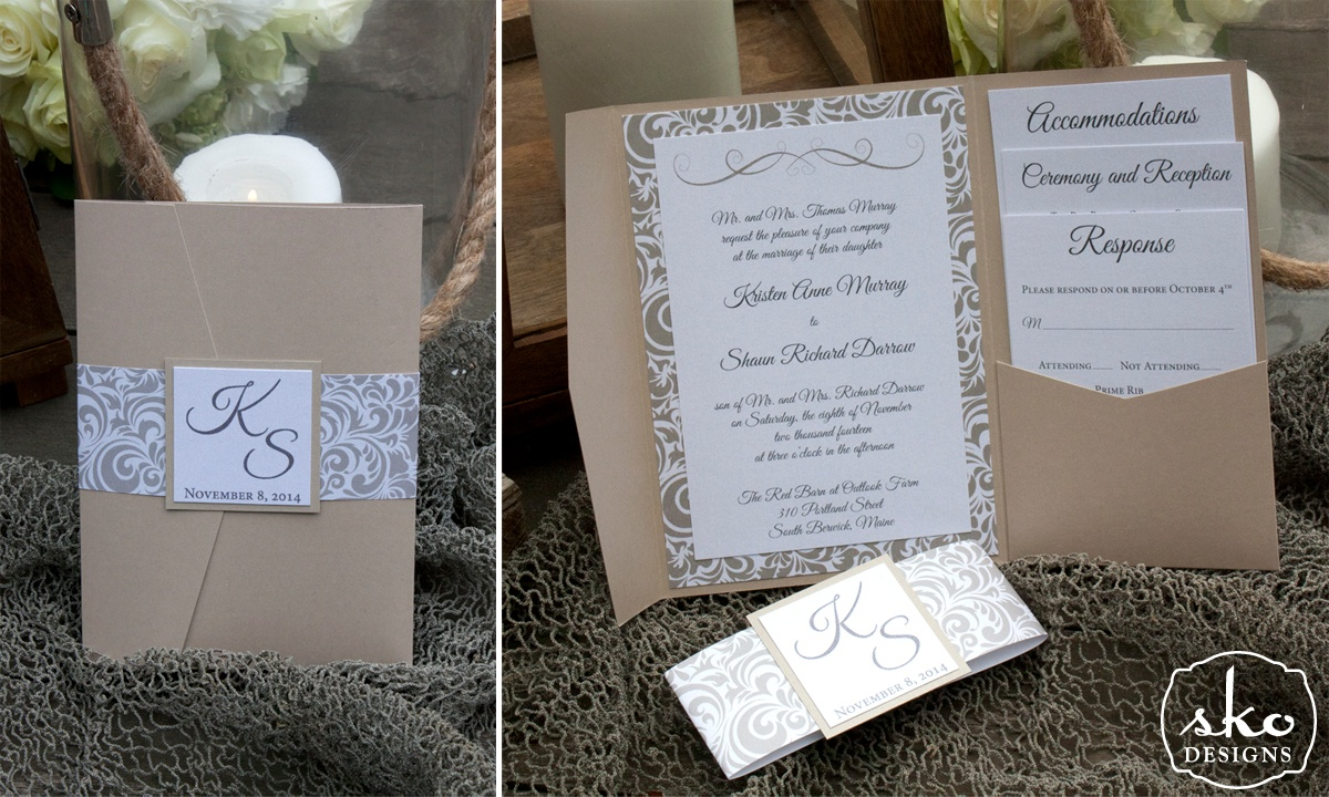 Wedding Invitation Trends Monograms