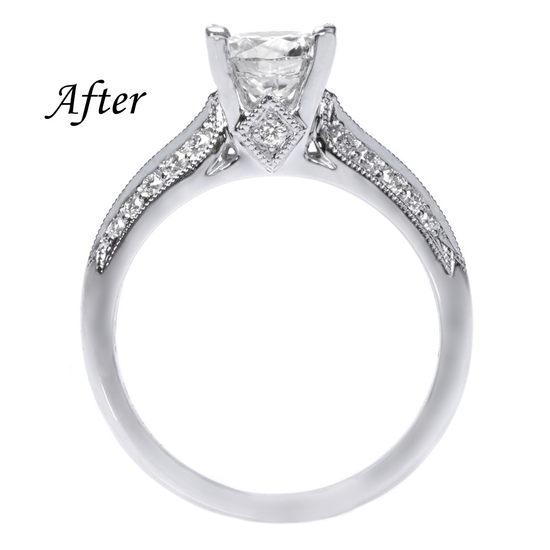 6 Ways To Reset Your Solitaire Engagement Ring - Upgrade Setting