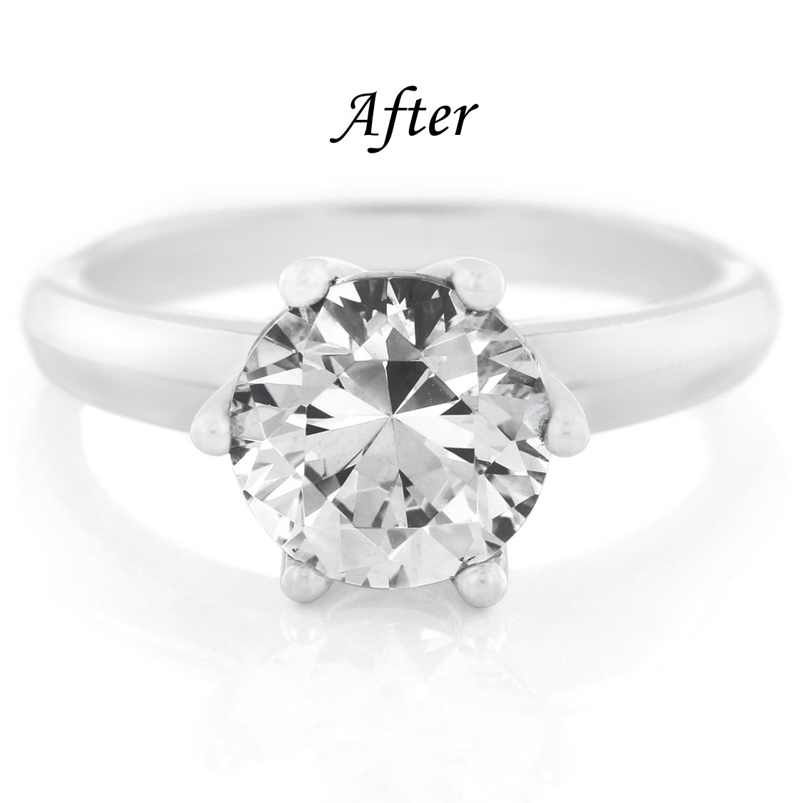 6 Ways To Reset Your Solitaire Engagement Ring - Upgrade Center Stone