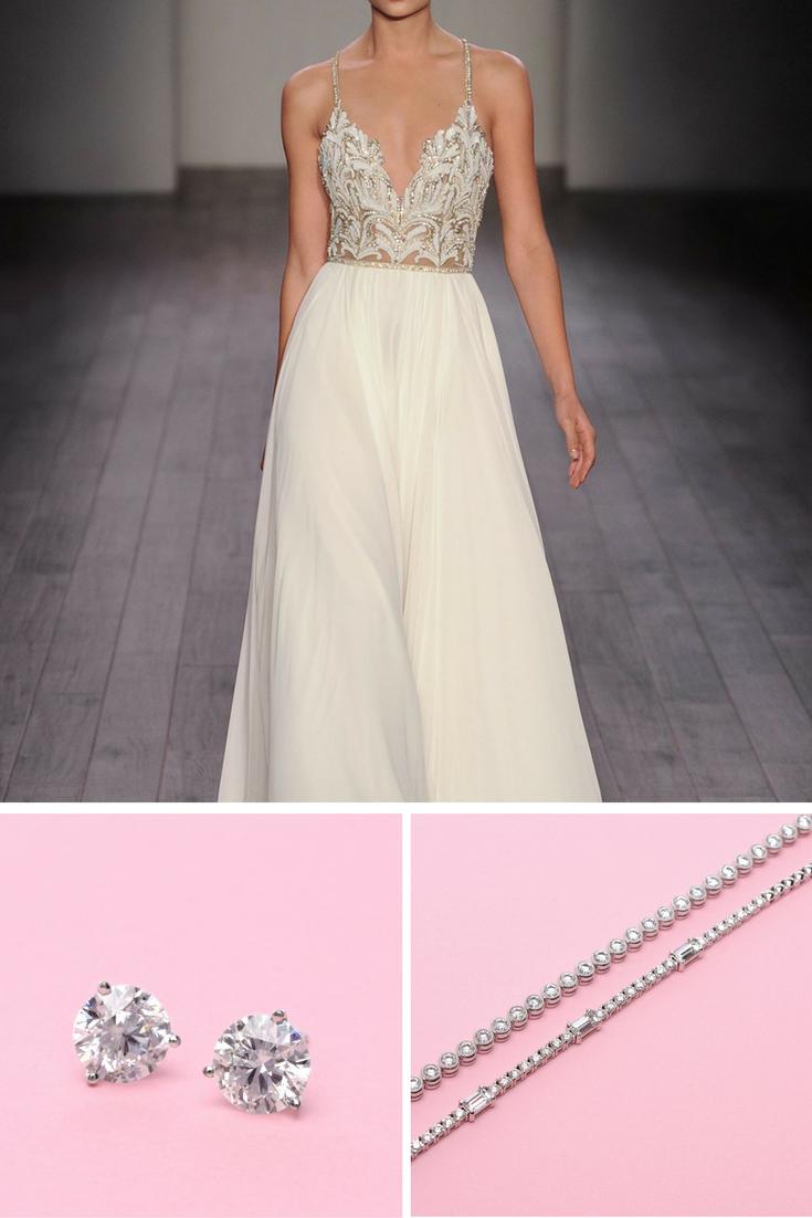 4 Trending Wedding Dresses & Jewelry To Match | Long's Jewelers | Flair Boston