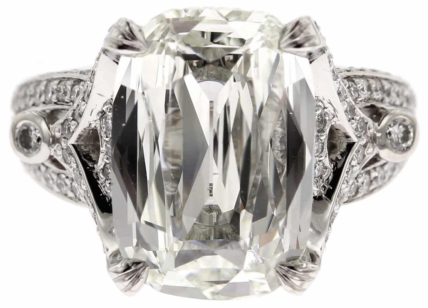 Custom Engagement Ring Longs Jewelers
