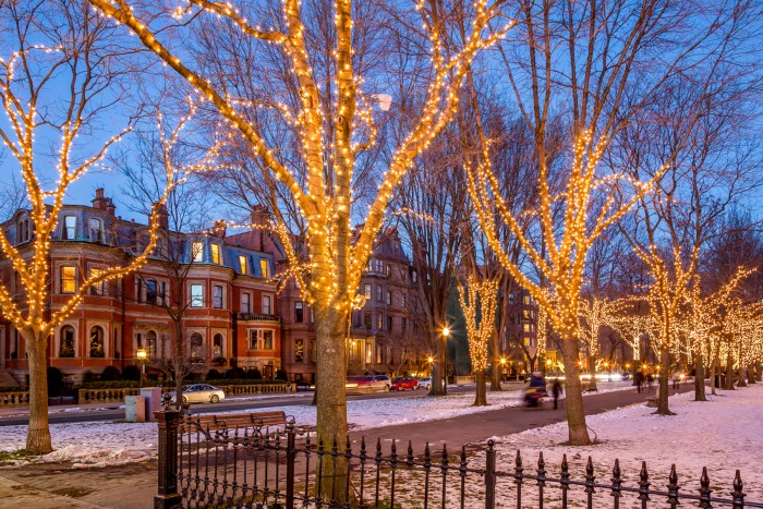 Boston Anniversary Date Ideas For Holiday 2015 Commonwealth Ave. Mall