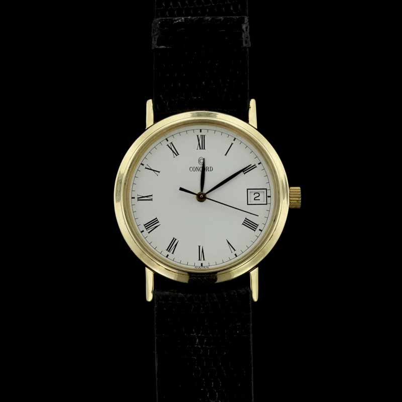 Concord 14K Yellow Gold Wristwatch