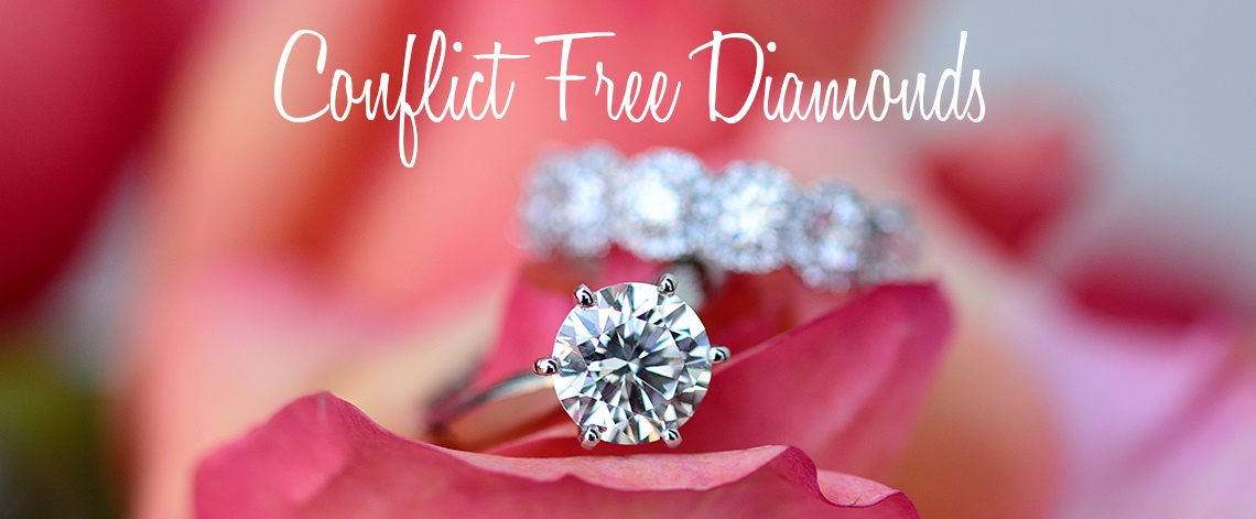Conflict Free Diamonds and Ethical Diamonds at Long's Jewelers