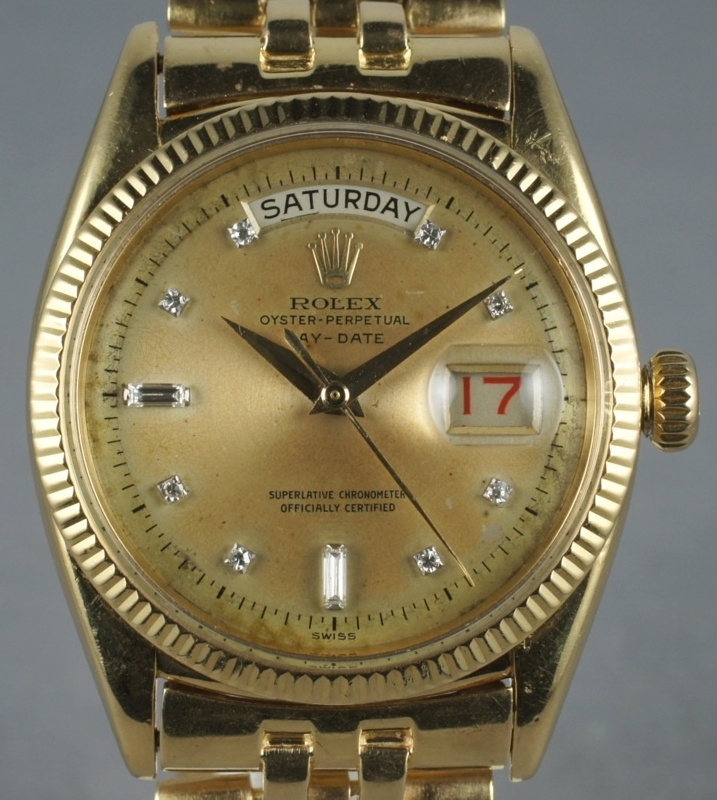 Most Iconic Timepieces From the Past 75 Years vintage rolex day date