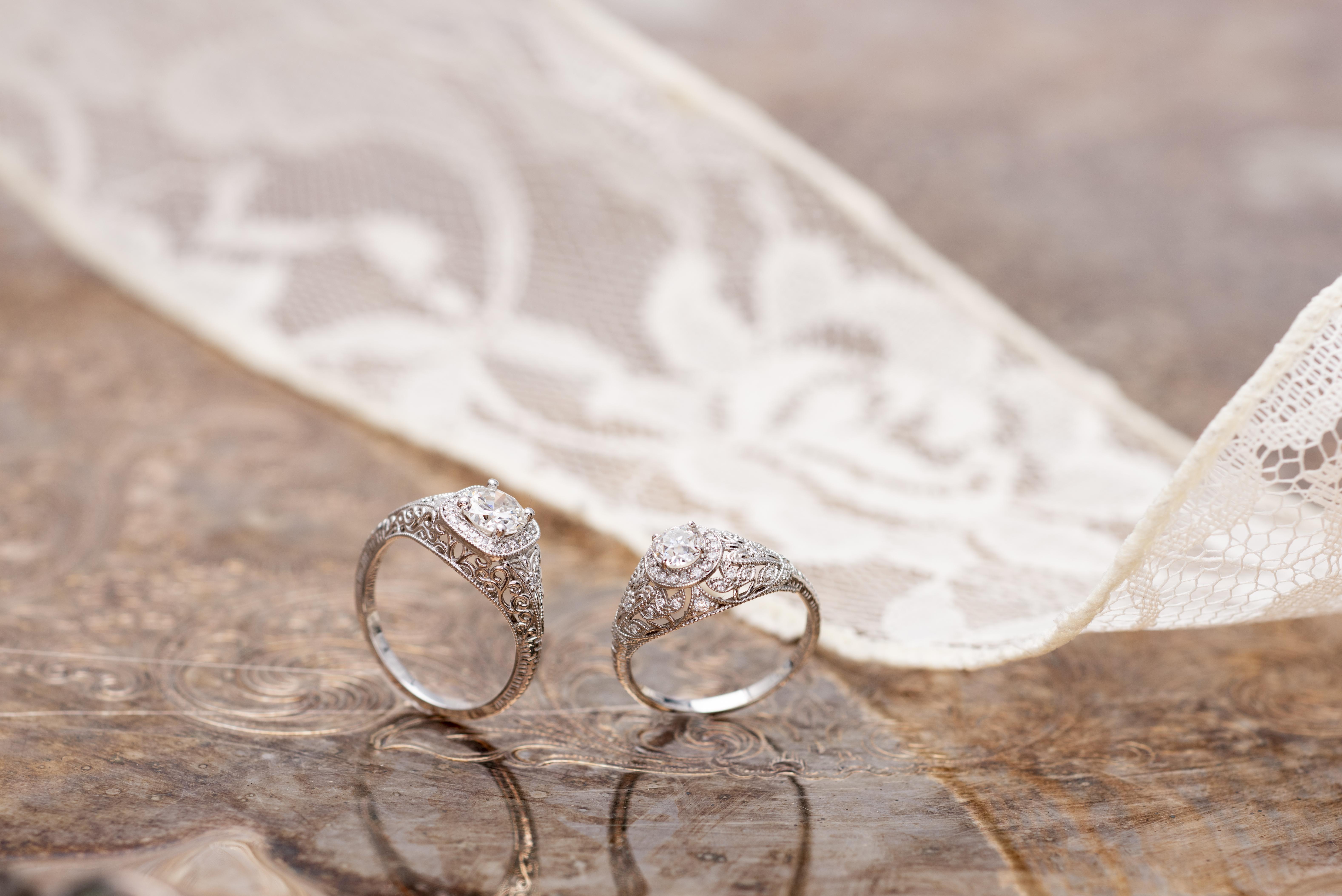 9 Unique Vintage Style Engagement Rings [Feat. Real Vintage Diamonds]