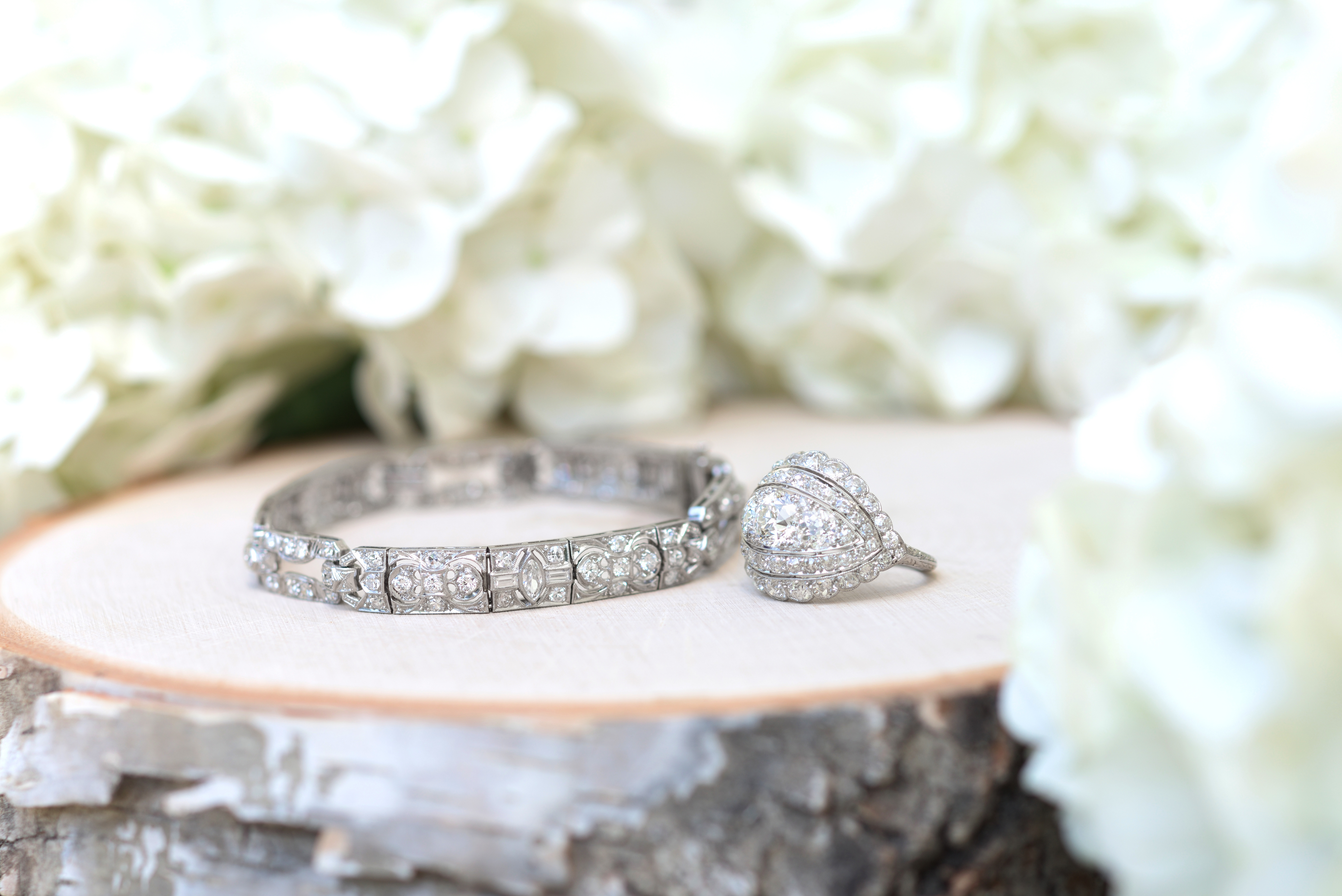 Beautiful Diamond Estate Jewelry Under $1,000
