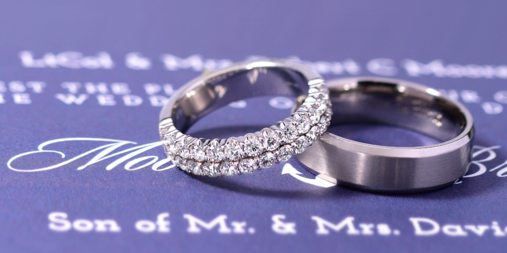 How Much Do Wedding Bands Cost Compared To Engagement Rings? Picture of Wedding Bands