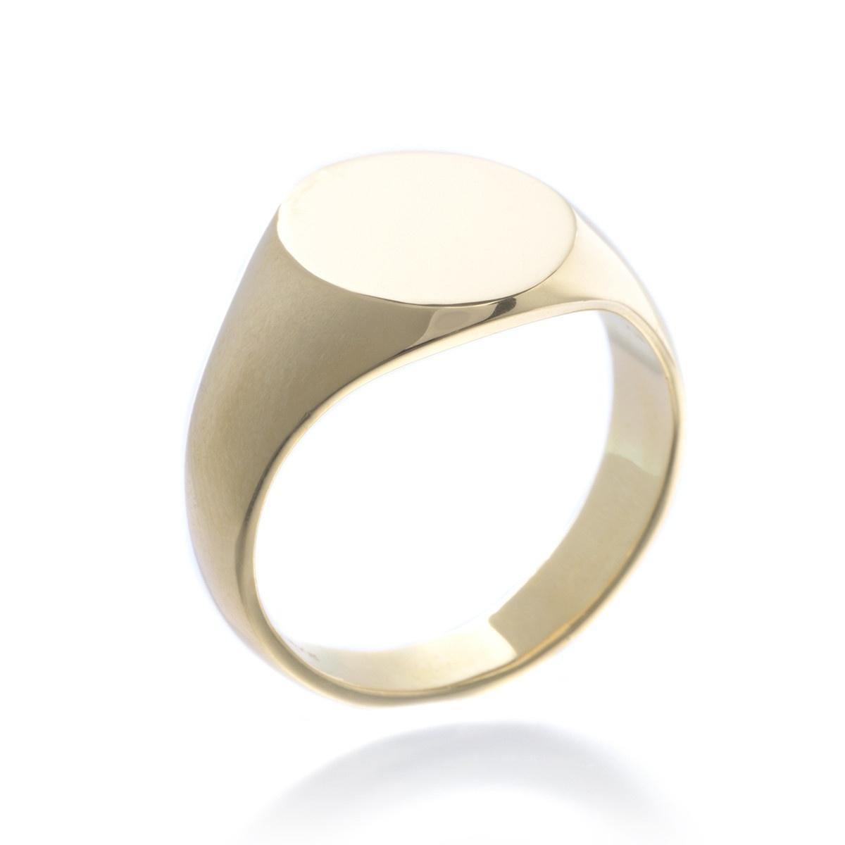 18K Yellow Gold Signant Ring