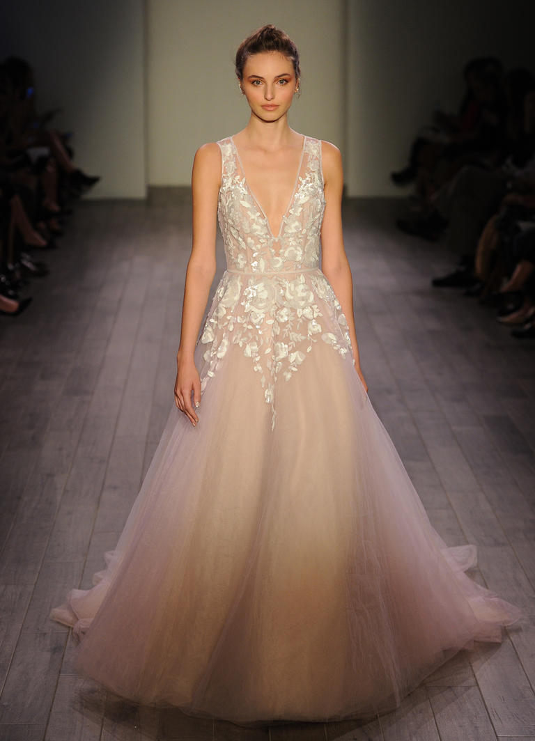Hayley Paige Fall 2016 (photo courtesy of The Knot)