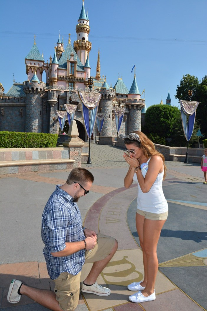 Janet and Patrick Disneyland Proposal