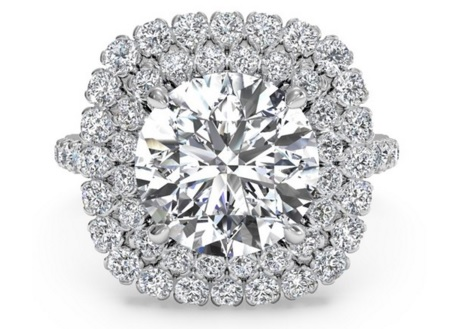 Upgrade To A Double Halo - Upgrade Your Engagement Ring