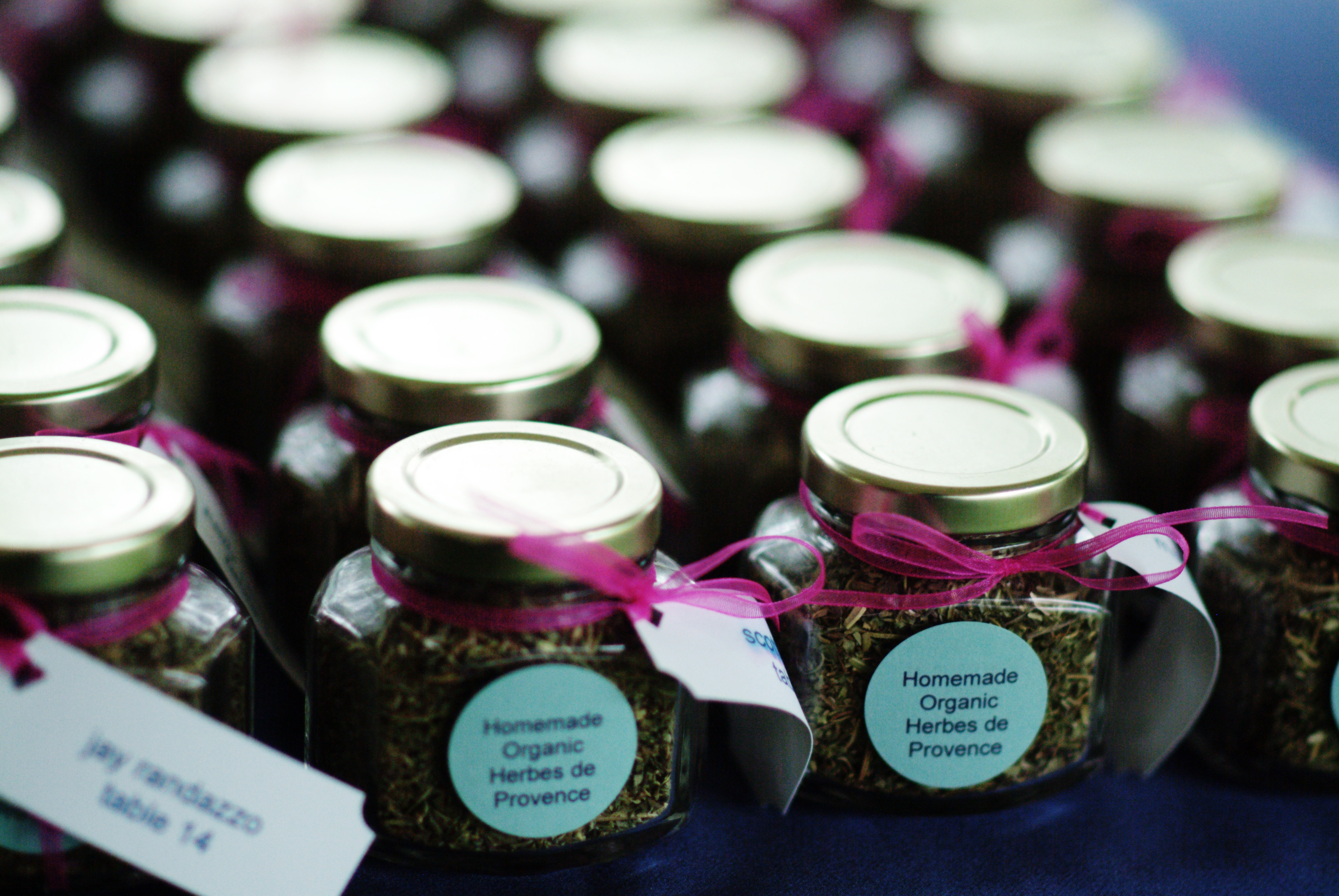 Making Your Boston Wedding Stand Out From The Crowd Handmade (DIY) Wedding Favors
