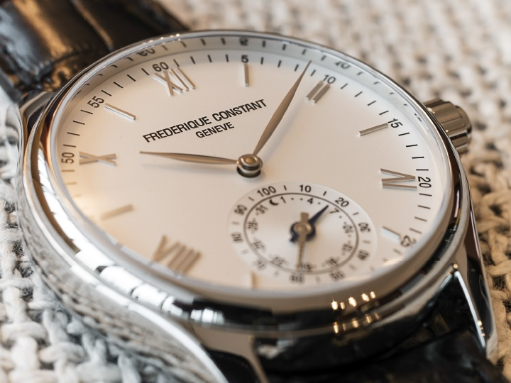 Frederique Constant Horological Smartwatch Close Up