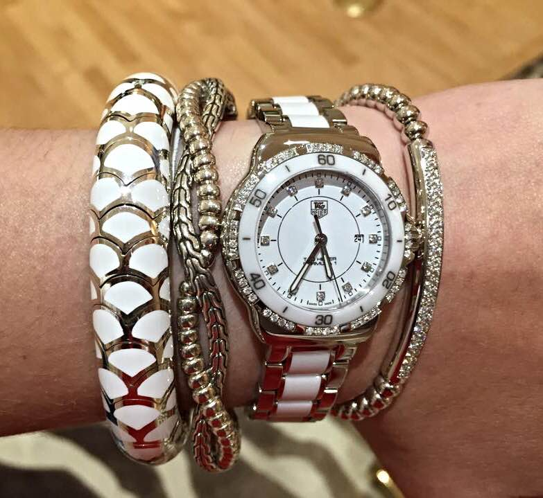 Accessorize your watch with stacking bracelets 2