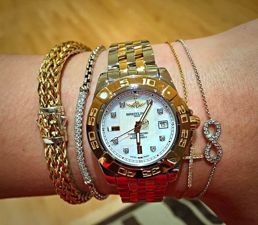 Accessorize your watch with stacking bracelets 3
