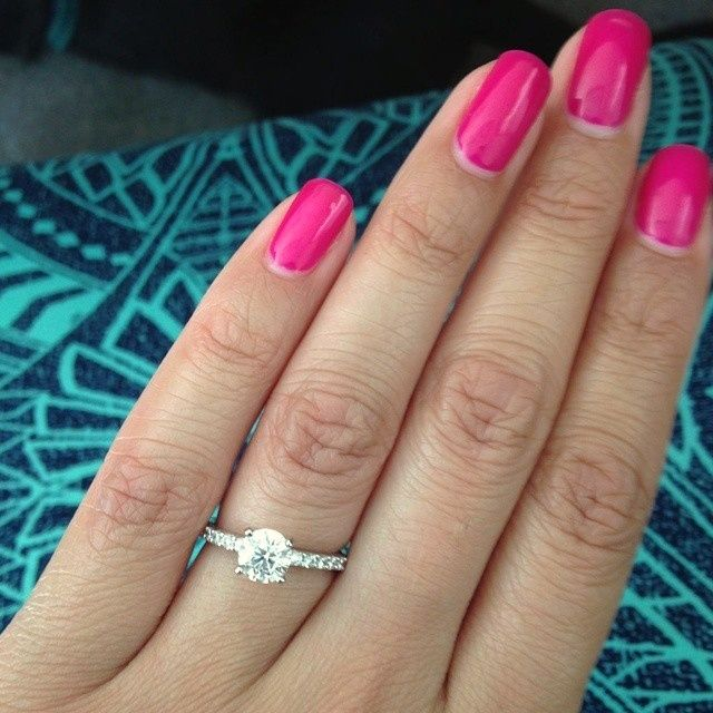 Jasmine and Greg - Long's Proposal Story - Engagement Ring Selfie