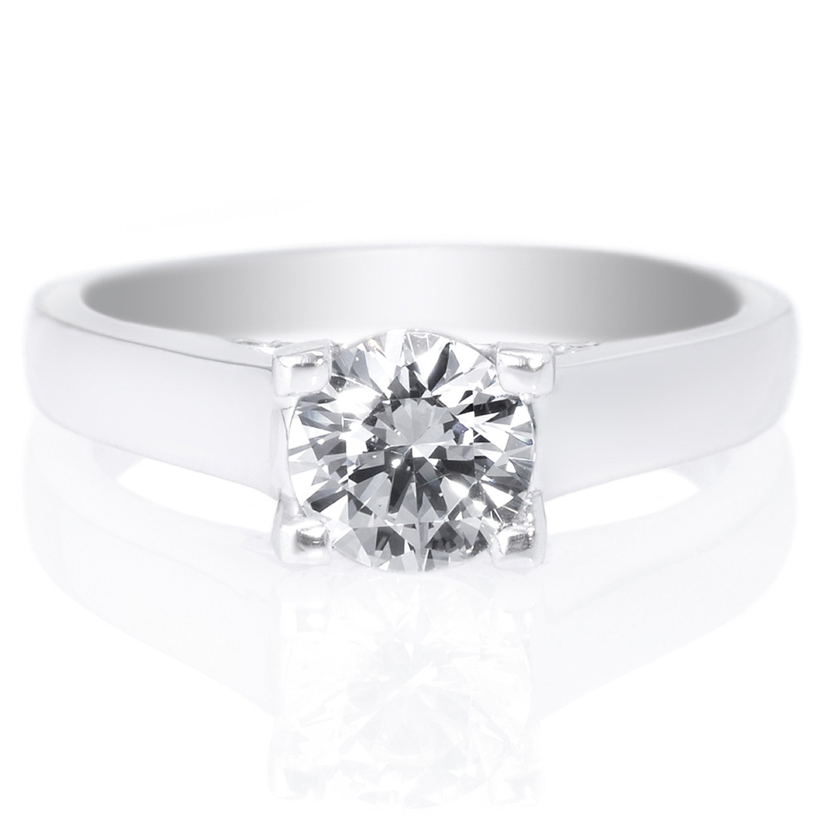 Top 5 Best Engagement Ring Settings: Wide Setting