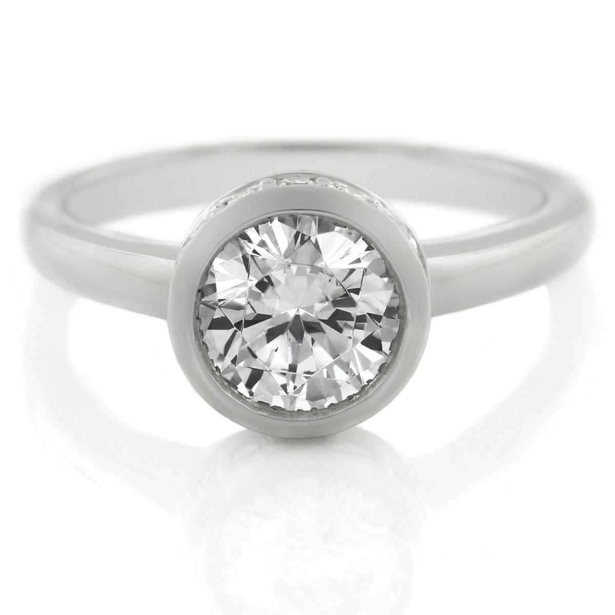 Top 5 Best Engagement Ring Settings: Bezel Setting