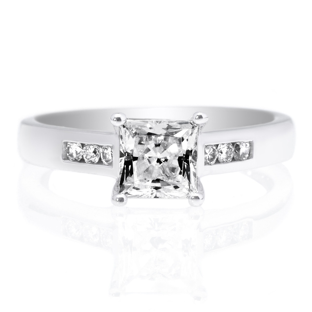 Top 5 Best Engagement Ring Settings: Channel Setting
