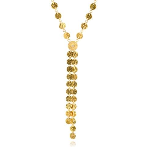 GURHAN 24K Yellow Gold Lush Tassel Necklace