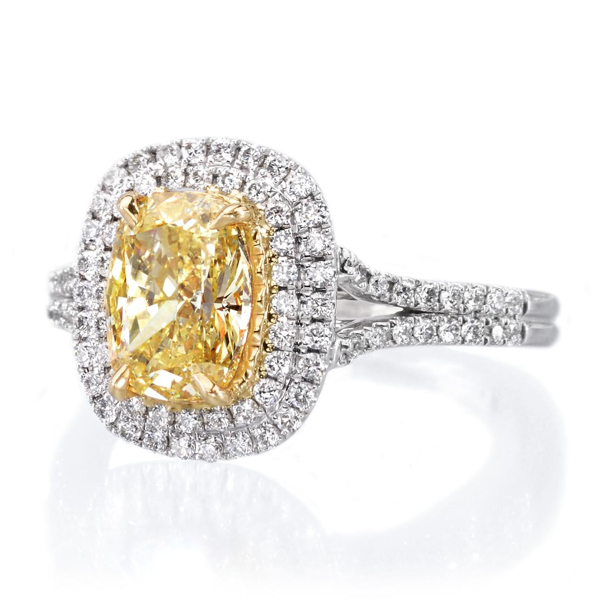 Dassi 18K Two-Tone Diamond Ring