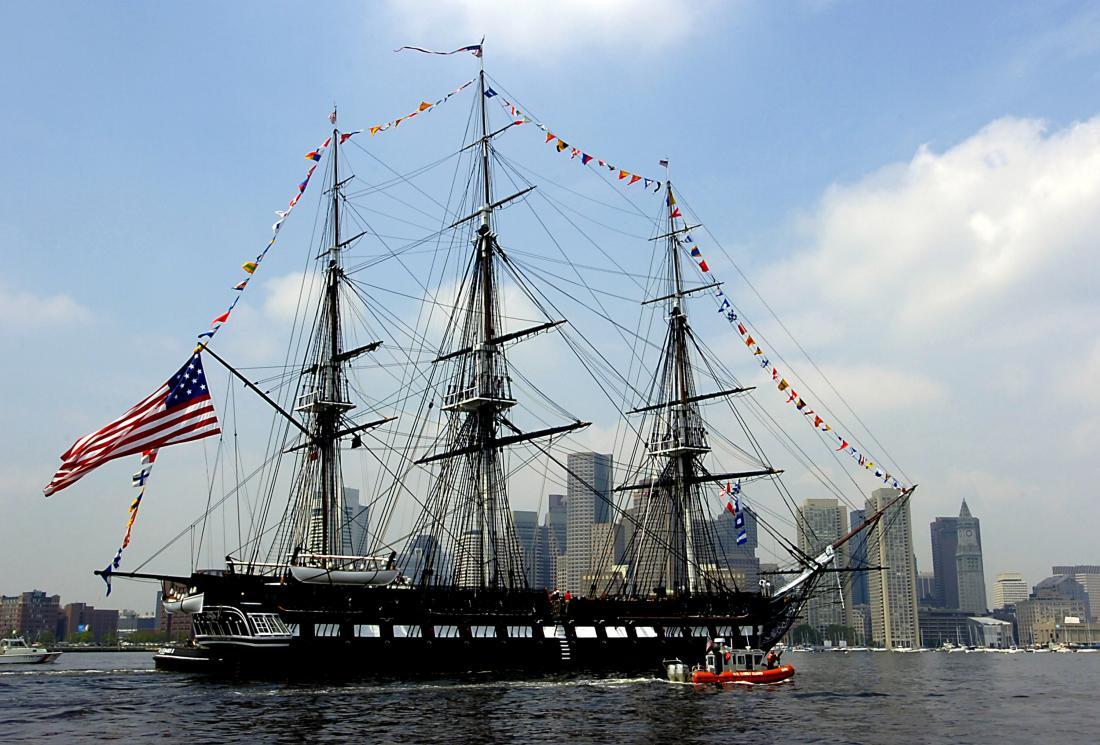 U.S.S. Constitution Boston Harbor Historic Proposal