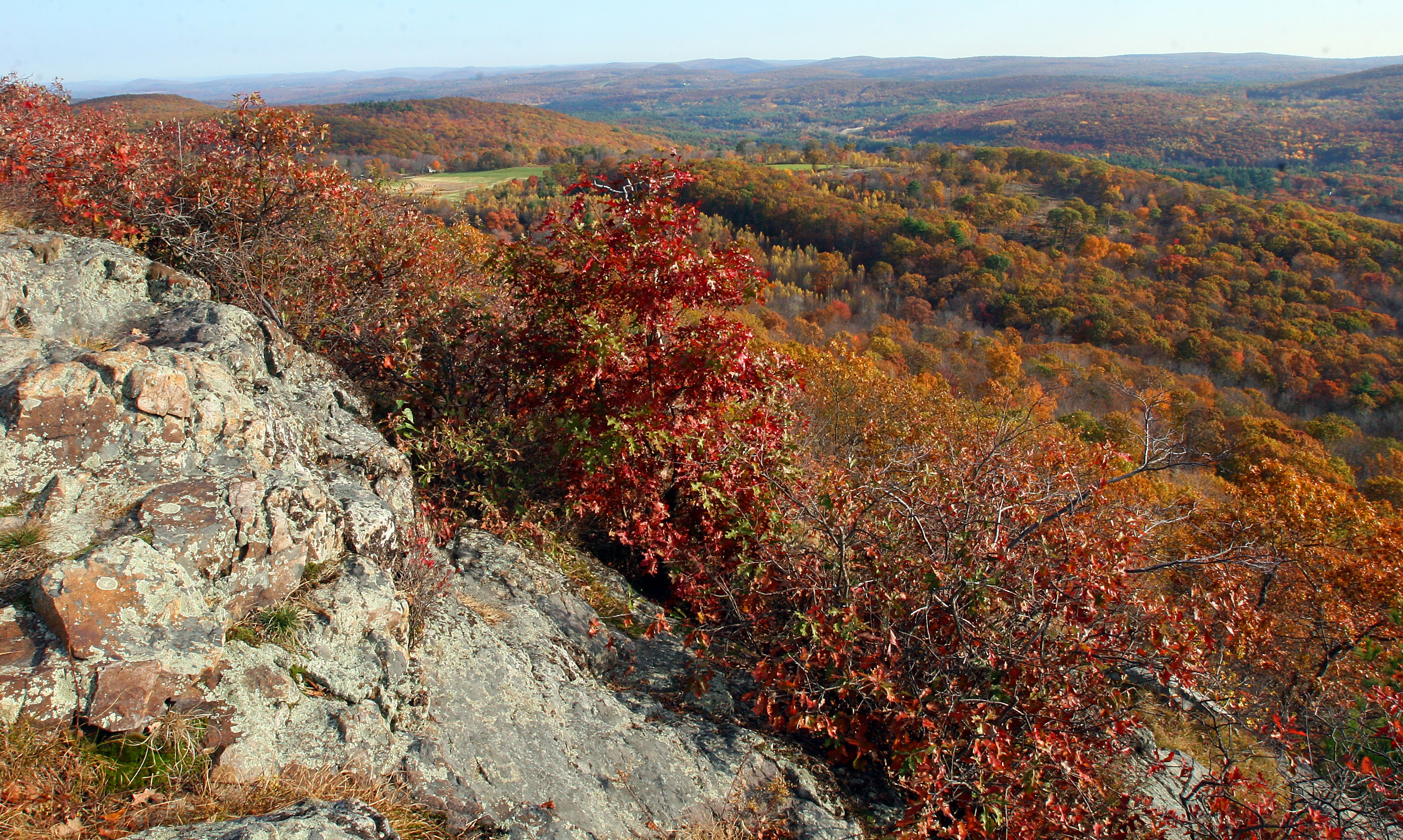 Peaked Mountain Reservation Summit - Long's Jewelers Hike Proposal
