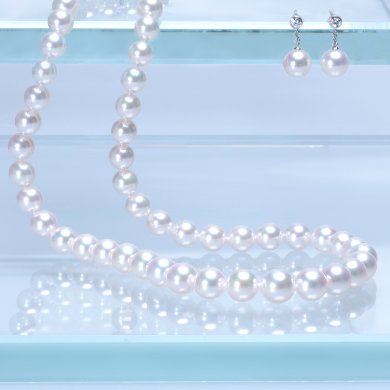 Mikimoto Pearl Set Beach Wedding Flair Boston