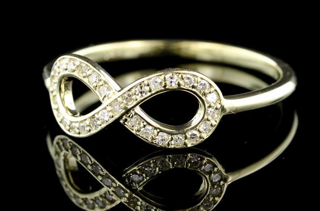 Simple Diamond Promise Rings