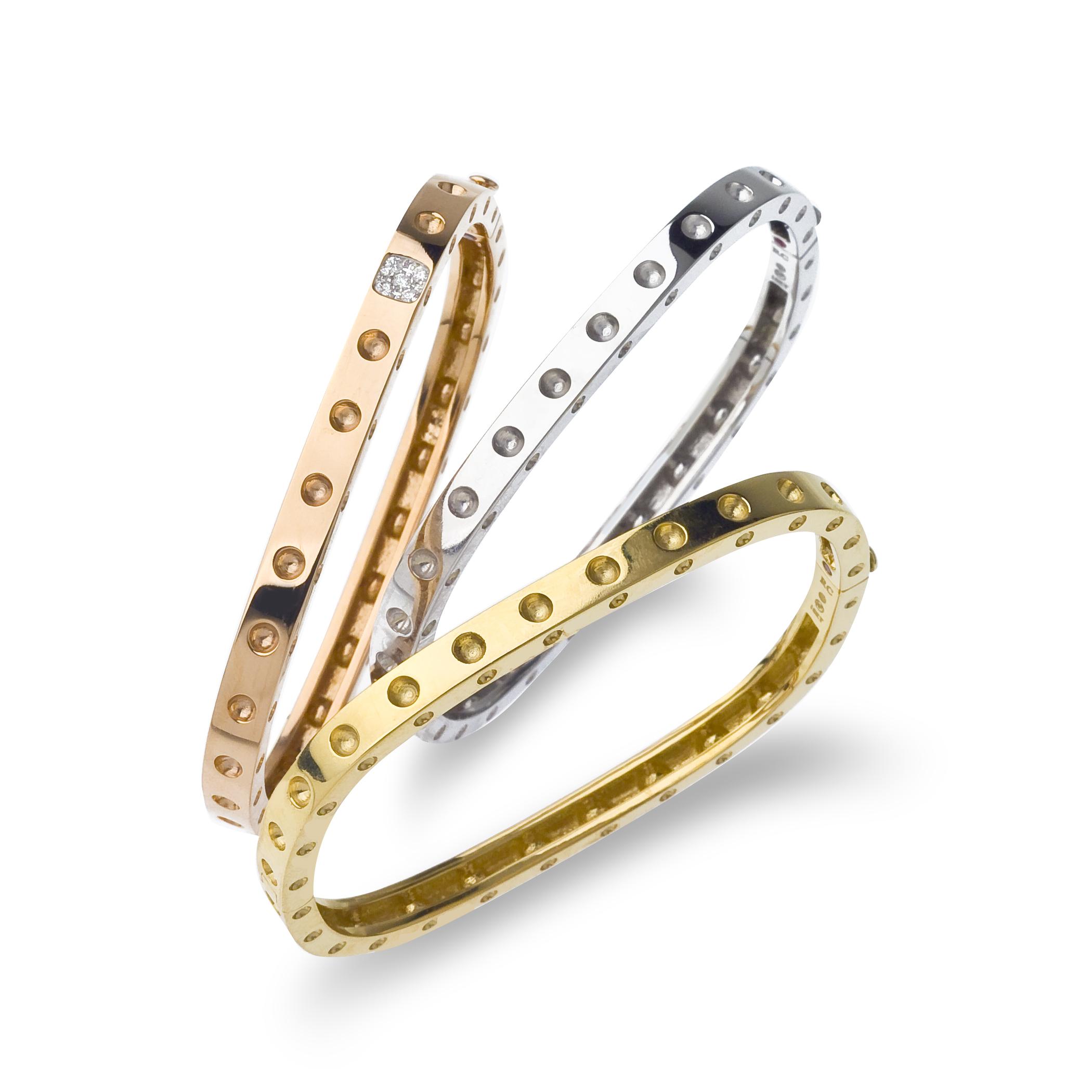 Roberto Coin Pois Mois Bracelet in 18K Gold