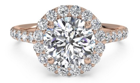 Add In Some Colored Gemstones or Colored Metal - Upgrade Your Engagement Ring