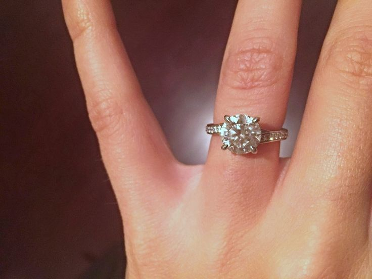 Rachel and Eric - Long's Proposal Story - Engagement Ring Selfie