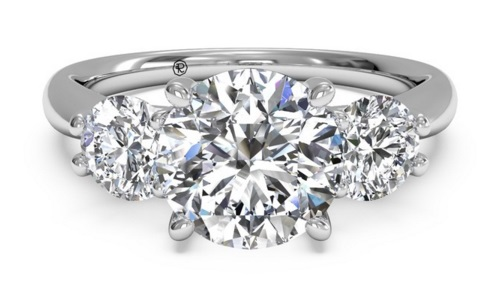 Upgrade To A Three Stone Diamond Ring - Upgrade Your Engagement Ring