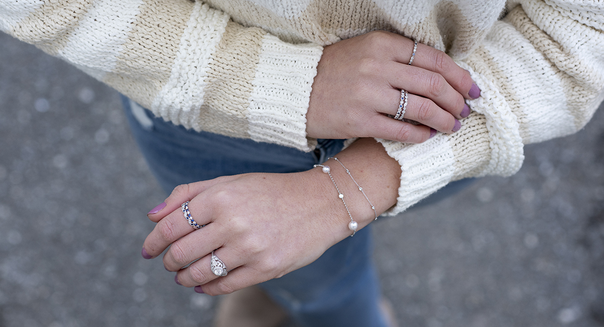4 Everyday Looks to Complement Your Engagement Ring