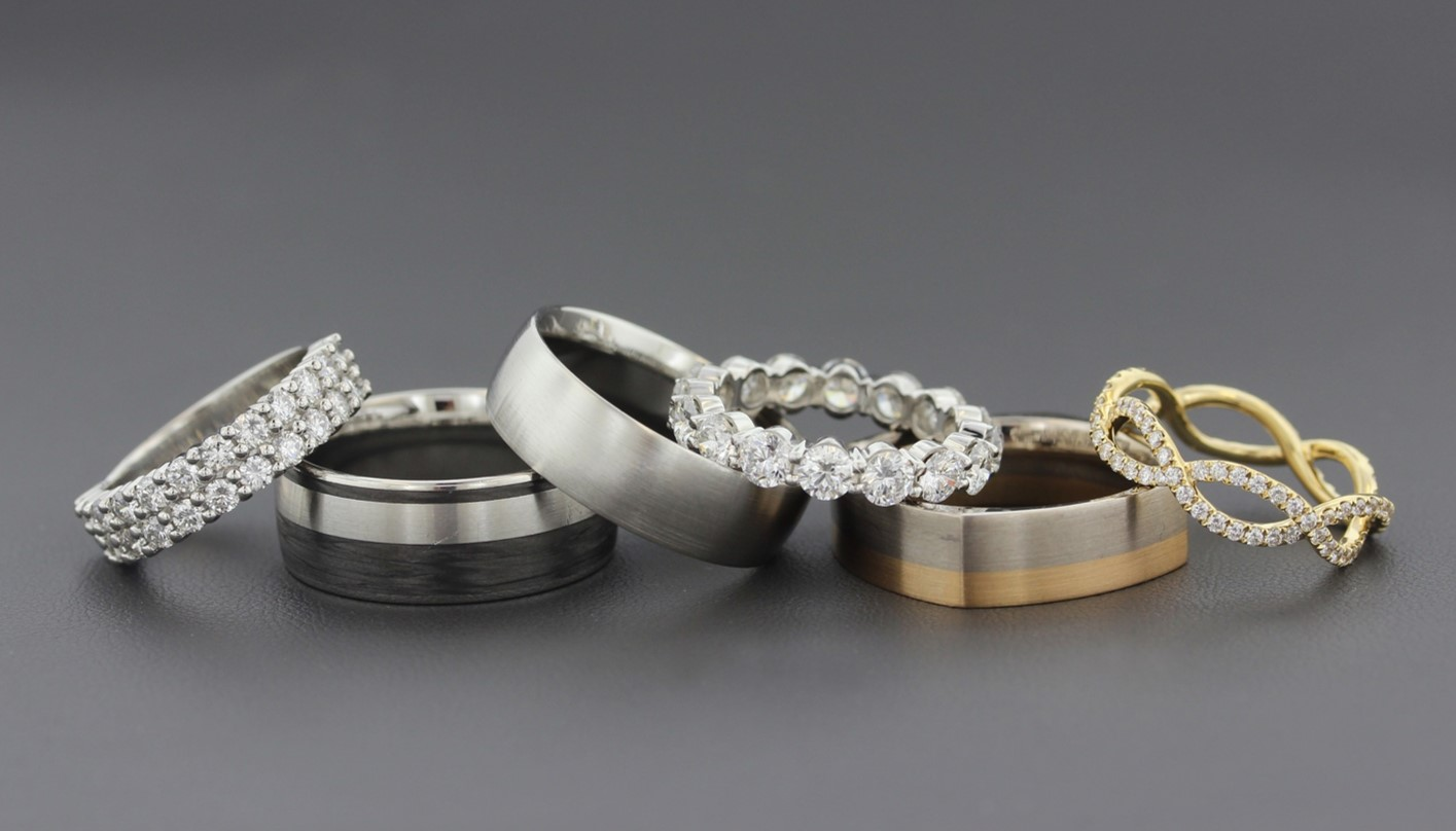 Wedding Band Metals To Mix Or To Match Your Engagement Ring Long S Jewelers