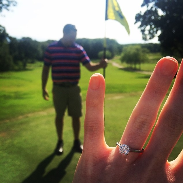 Engagement Ring Selfie - From @allyme1 on Instagram