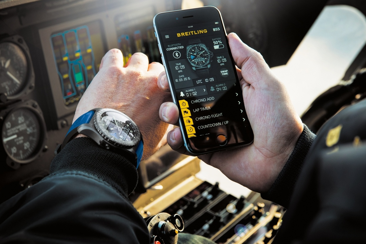 Breitling b55 connected Most Iconic Timepieces From the Past 75 Years