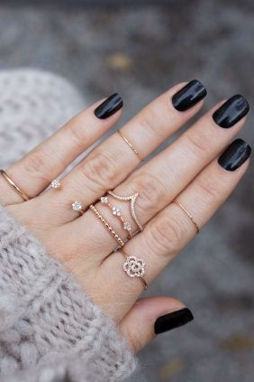 3 Engagement Rings Trends Inspired By The Red Carpet & Runway - Rose Gold Romantics
