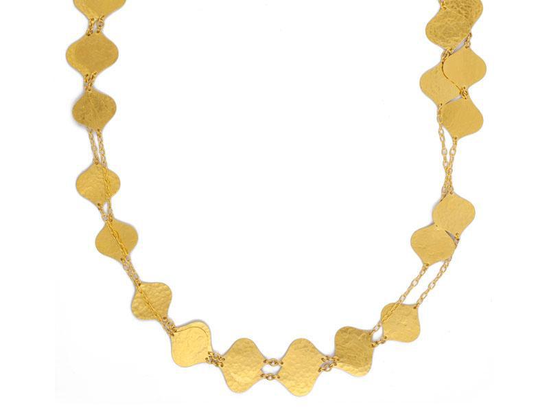 Gurhan Clustered Long Clove Station Necklace Long Necklace
