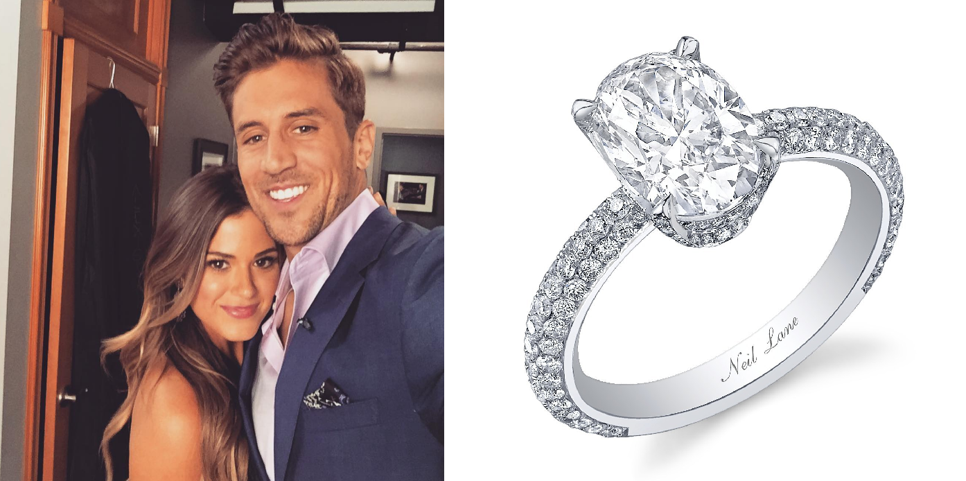 6 Stunning Oval Engagement Rings Inspired By The Bachelorette