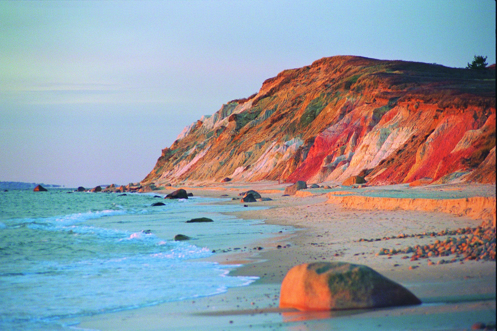 Most Romantic Proposal Locations in Cape Cod Gay Head Cliff