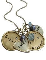 custom necklace push present