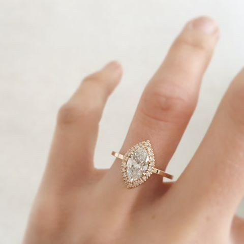 The 7 Best Diamond Shapes For An Engagement Ring Marquise Diamonds