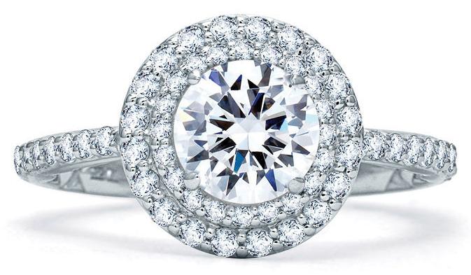 6 Best Halo Diamond Engagement Rings