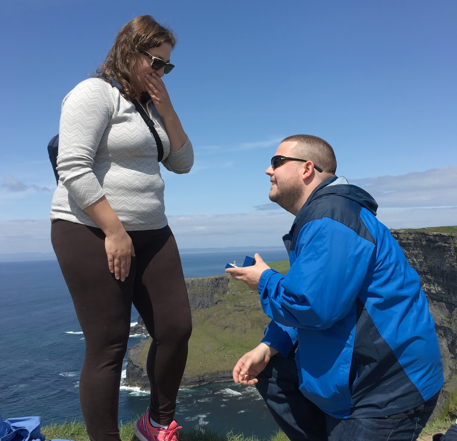 Creative Proposal Idea Pop The Question On A Picturesque Hike