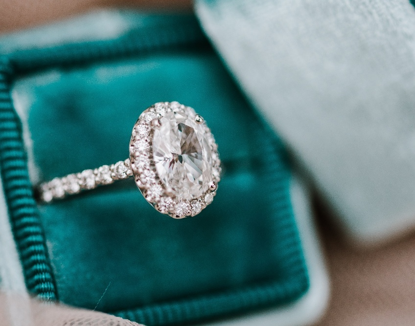 Best Diamond Shapes For An Engagement Ring Oval Diamond Halo