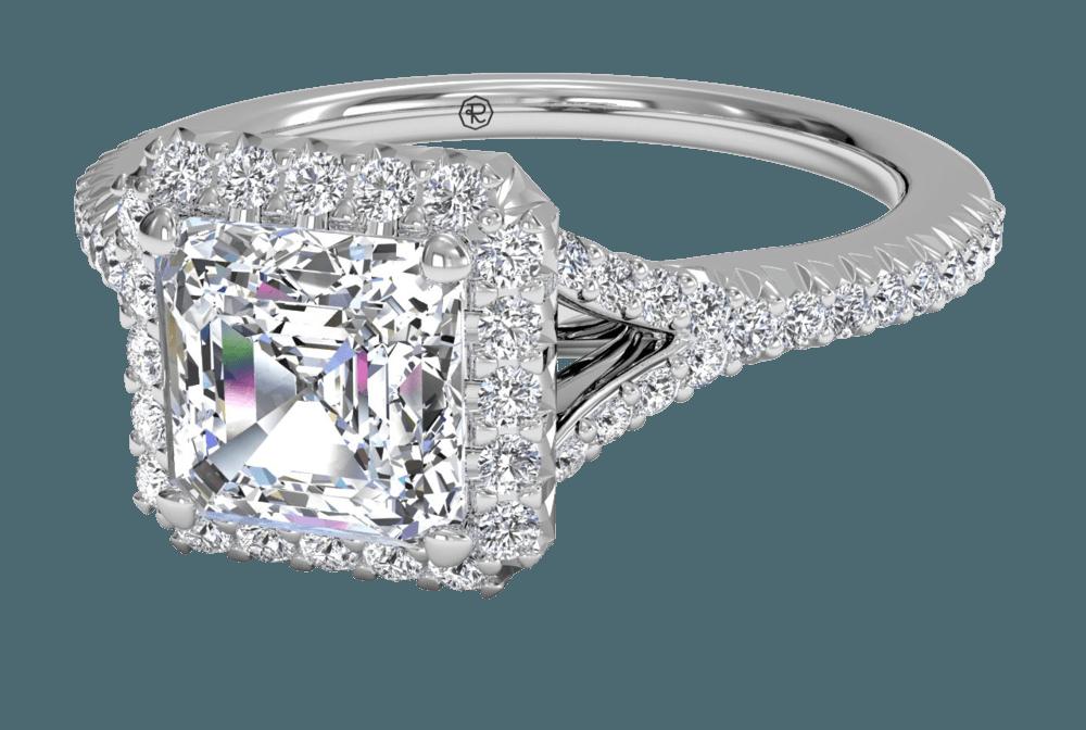 Split Shank Engagement Ring