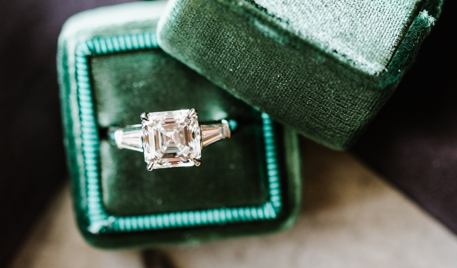 Choose a fancy cut diamond instead of the classic round shape